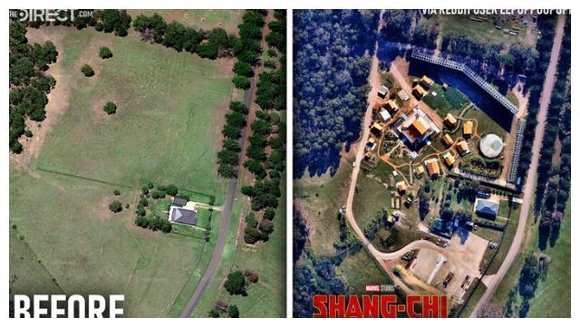 漫威展现钞能力!为拍摄电影,在澳大利亚凭空建了一个皇宫