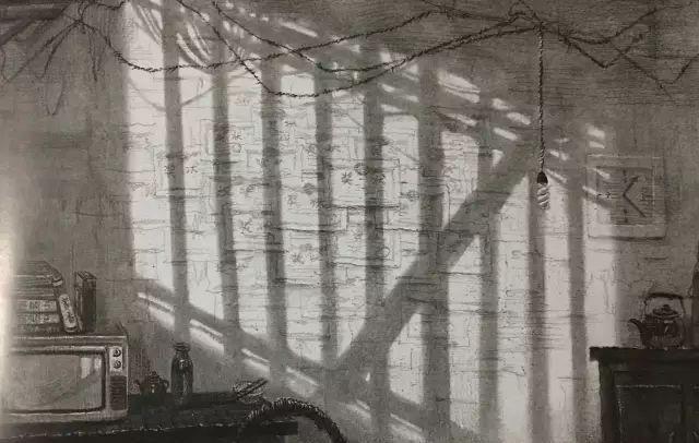 清华大学美术学院设计素描中的光影