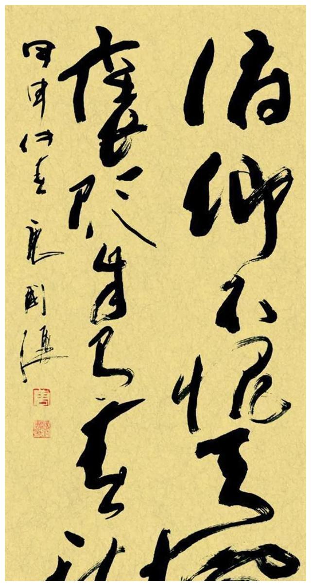 特型演员唐国强,创作的书法作品卓有成就,被赞气度非凡