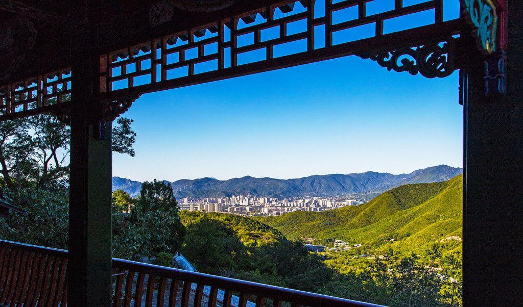 京郊罕见佛、道两家共进一堂殿宇——石景山慈善寺