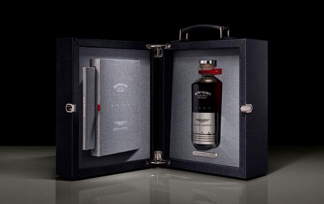 限量27瓶!波摩和阿斯顿·马丁合作推出首款威士忌
