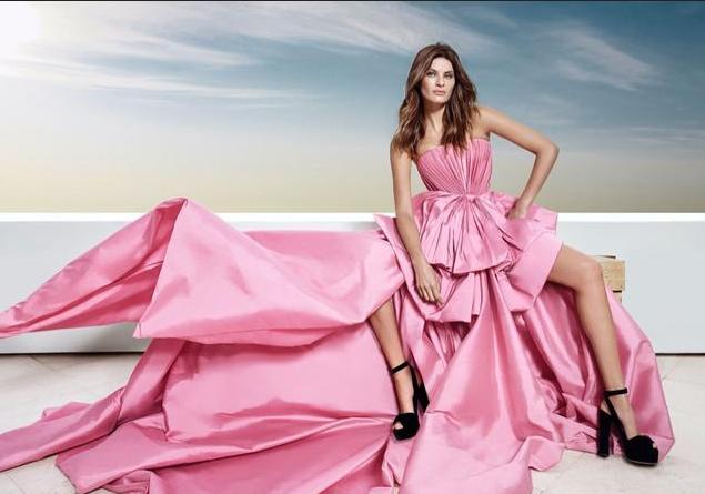 超模Isabeli Fontana高级时尚大片