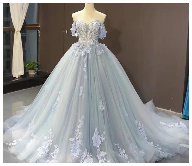 心理测试:你喜欢下面哪款公主裙?测你是女神,小仙女还是女汉子