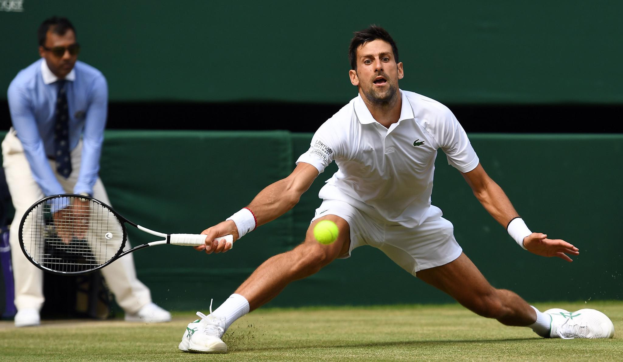 网球——温网:焦科维奇晋级决赛