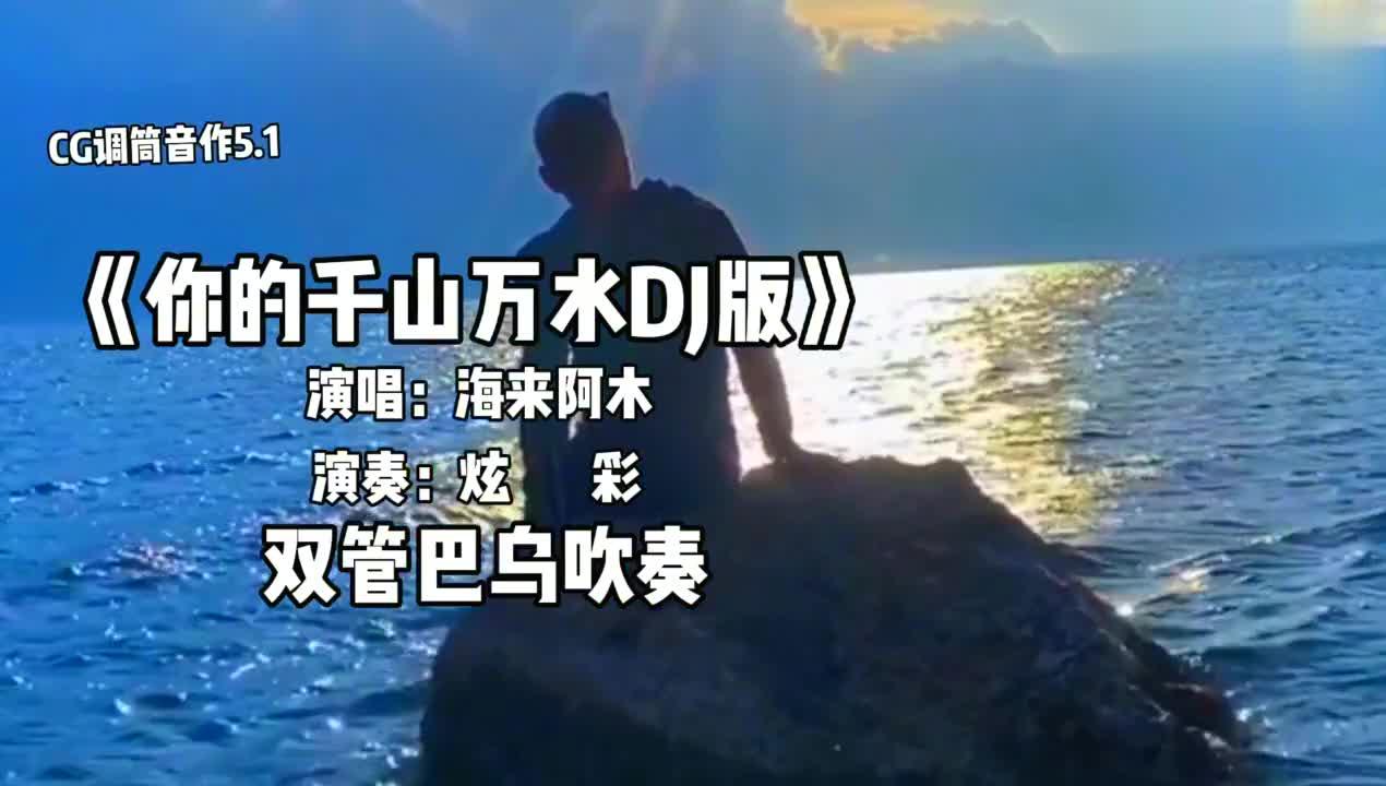 一首情歌《你的千山万水DJ版》炫彩