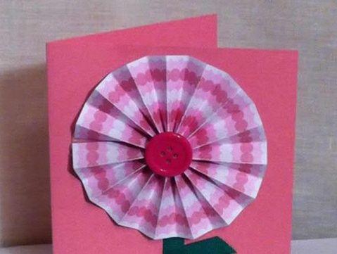 儿童花朵贺卡的制作方法 感恩节教师节都可用