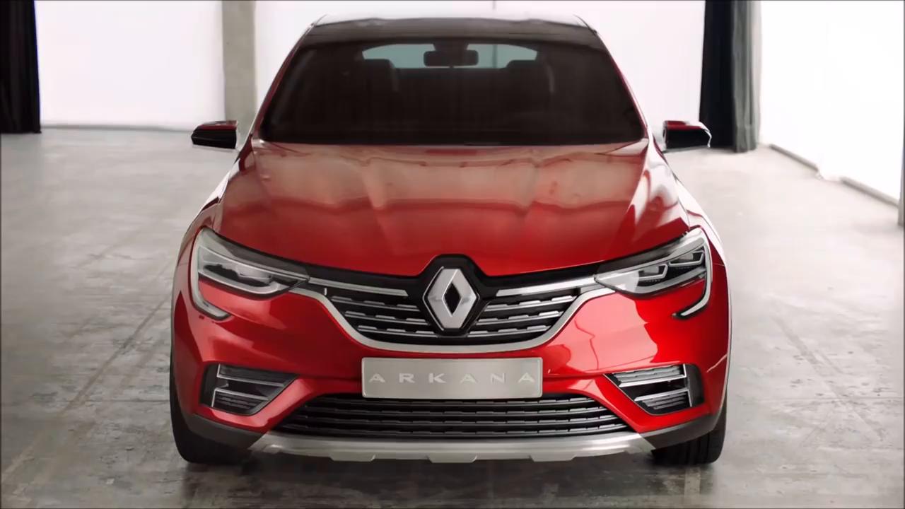 2019年雷诺跑车SUVarkana完美!