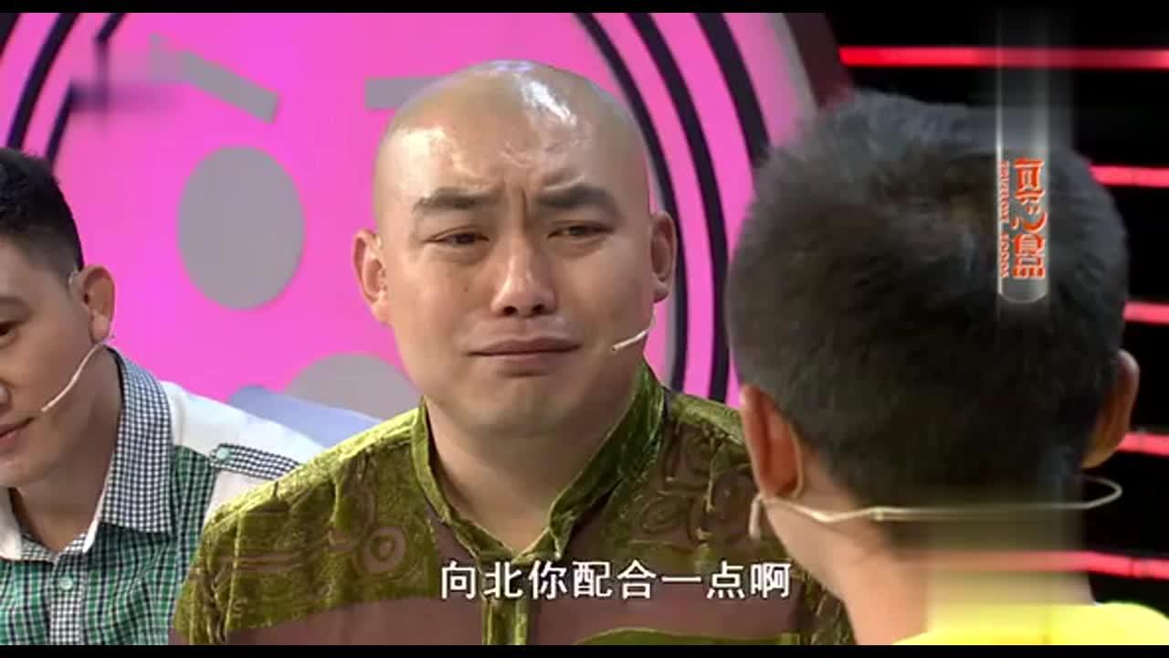 程野现场演哭戏,两秒钟立马下眼泪然后又笑了