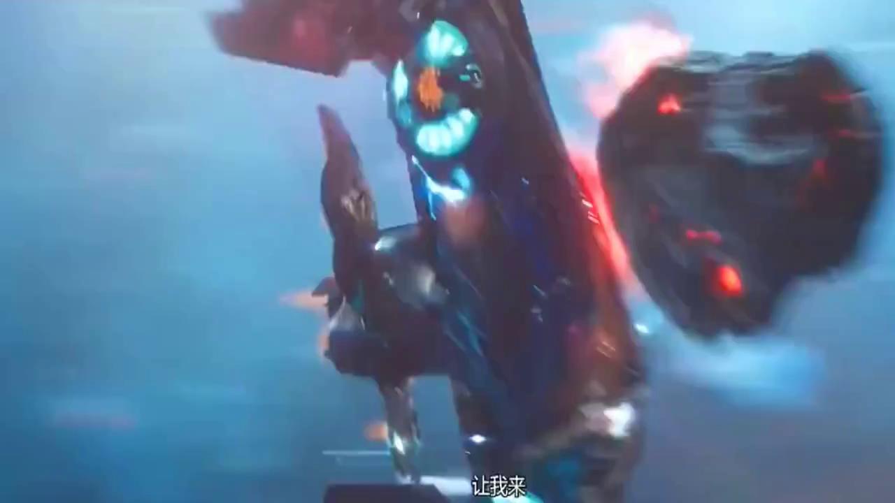 至高星人都围在他的身边,看他与银河护卫队的战斗!