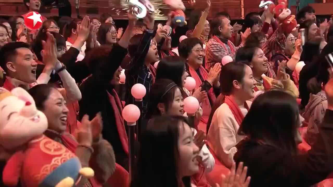 2020东方春晚:林心如赵薇苏有朋古巨基演唱《好想好想》