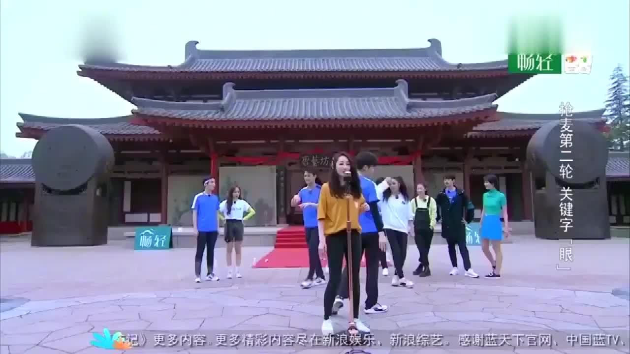 王凯老歌串烧,吴谨言清唱《雪落下的声音》,好听!