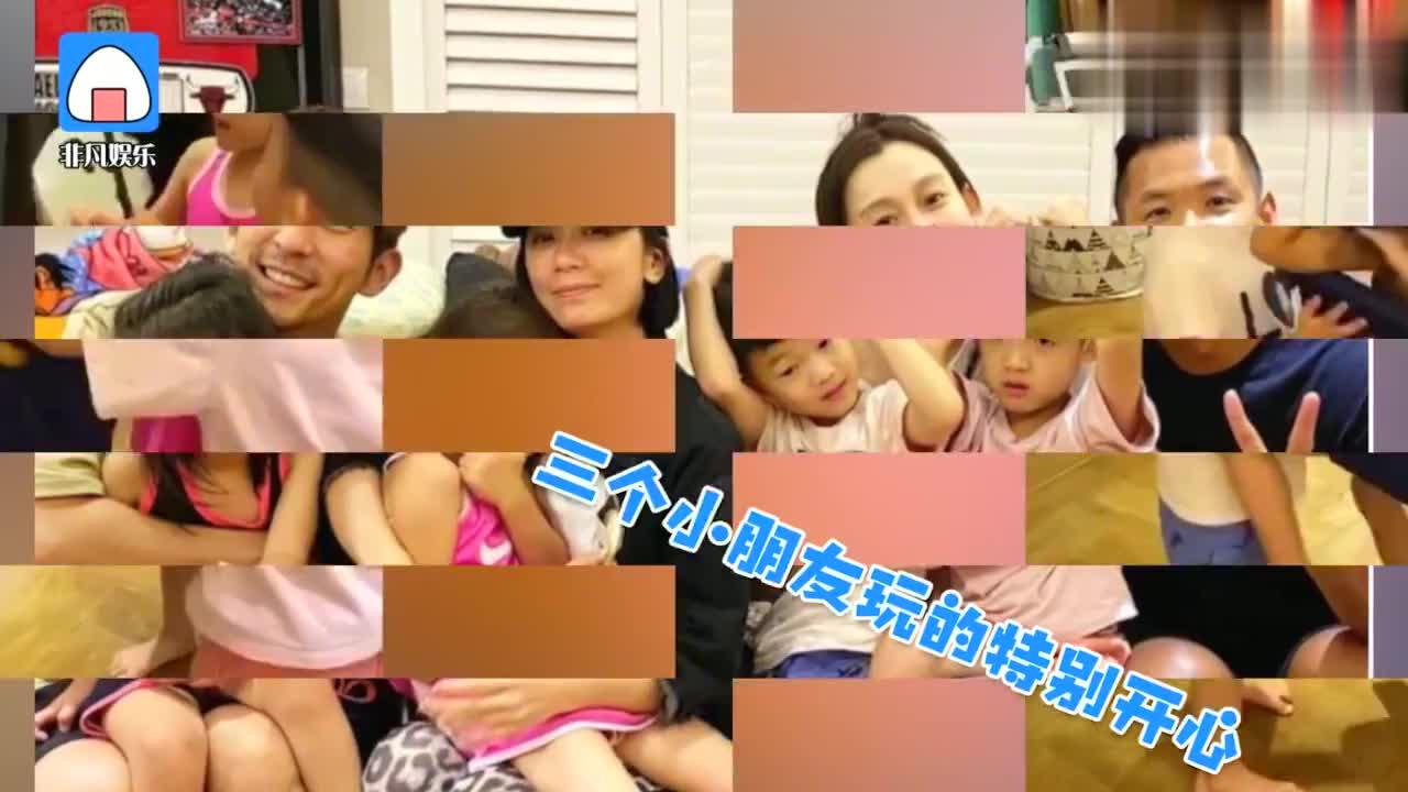 陈建州晒聚会照 与范玮琪肤色差感人 贾静雯素颜难掩疲惫!