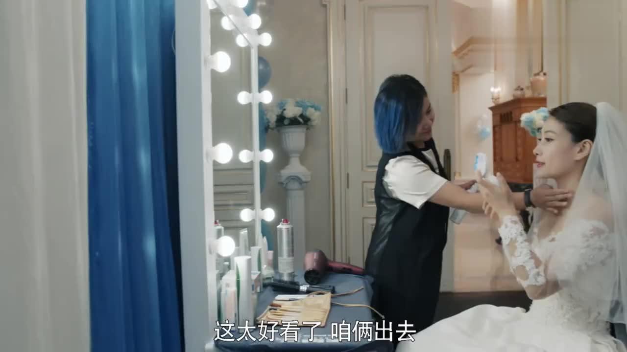 杨阳洋卢卡结婚,李奔腾竟送上两颗这么大的钻石,果然是霸道总裁