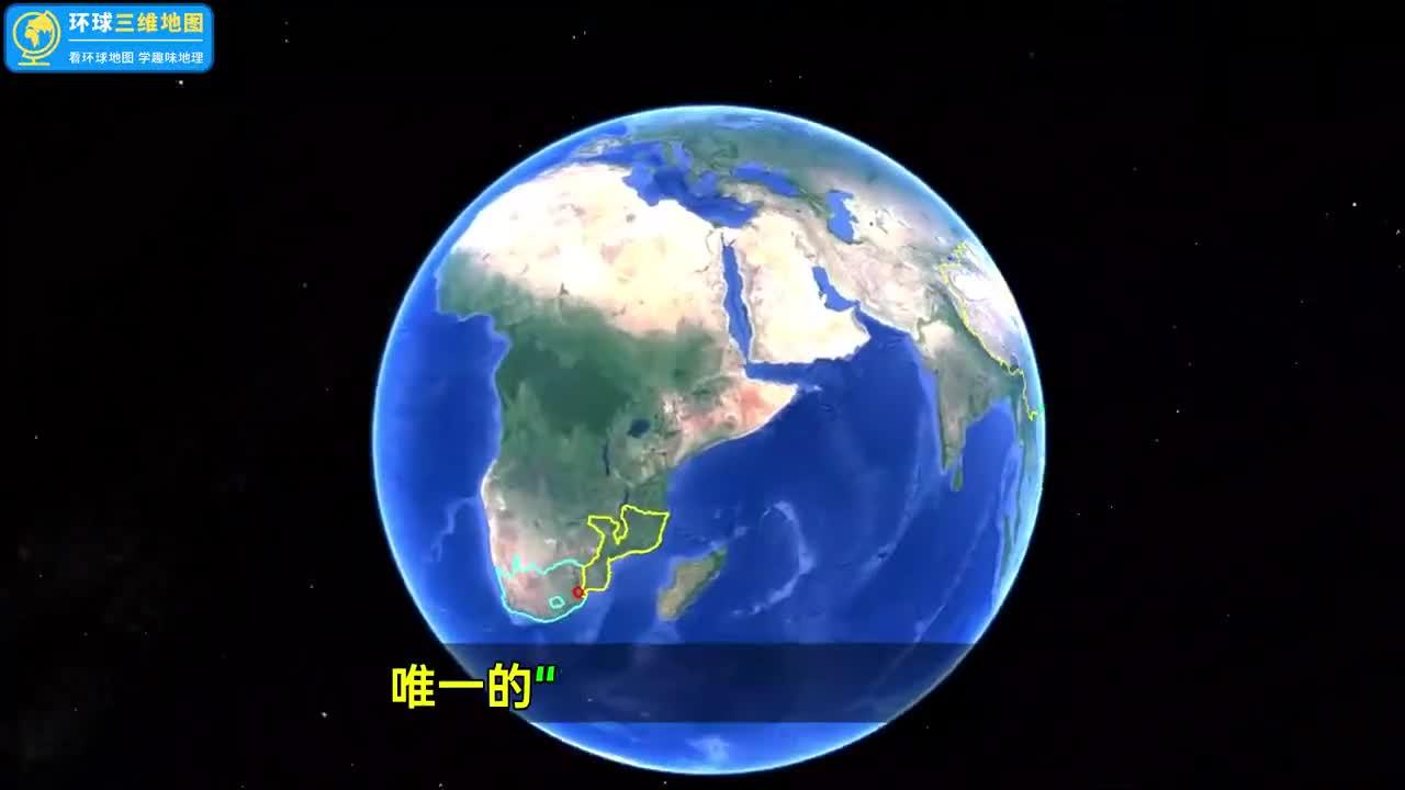 """看看在非洲唯一""""台湾邦交国"""",是什么来头?国家建设得怎么样"""