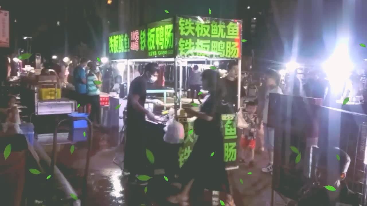 昨晚,逛临沂兰山刚兴起的大夜市,好热闹。和启阳路的夜市有一比