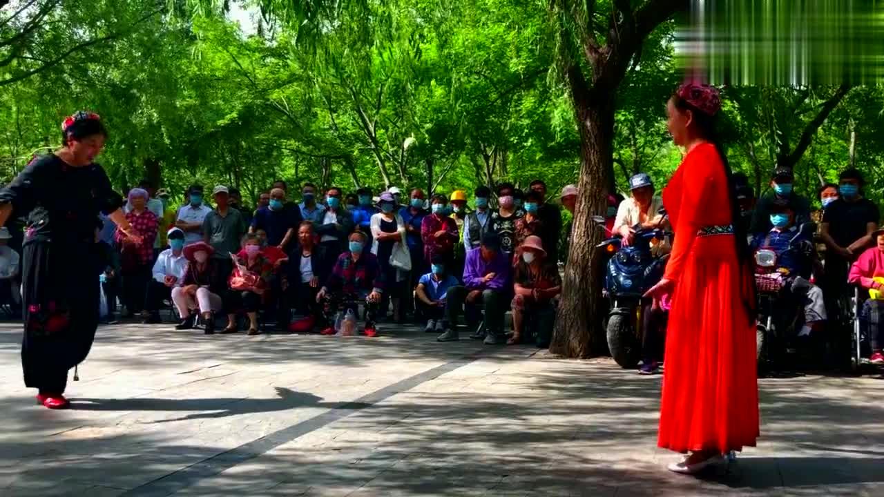 广场舞《新达坂城的姑娘》民族老歌新唱,带给你全新的感觉