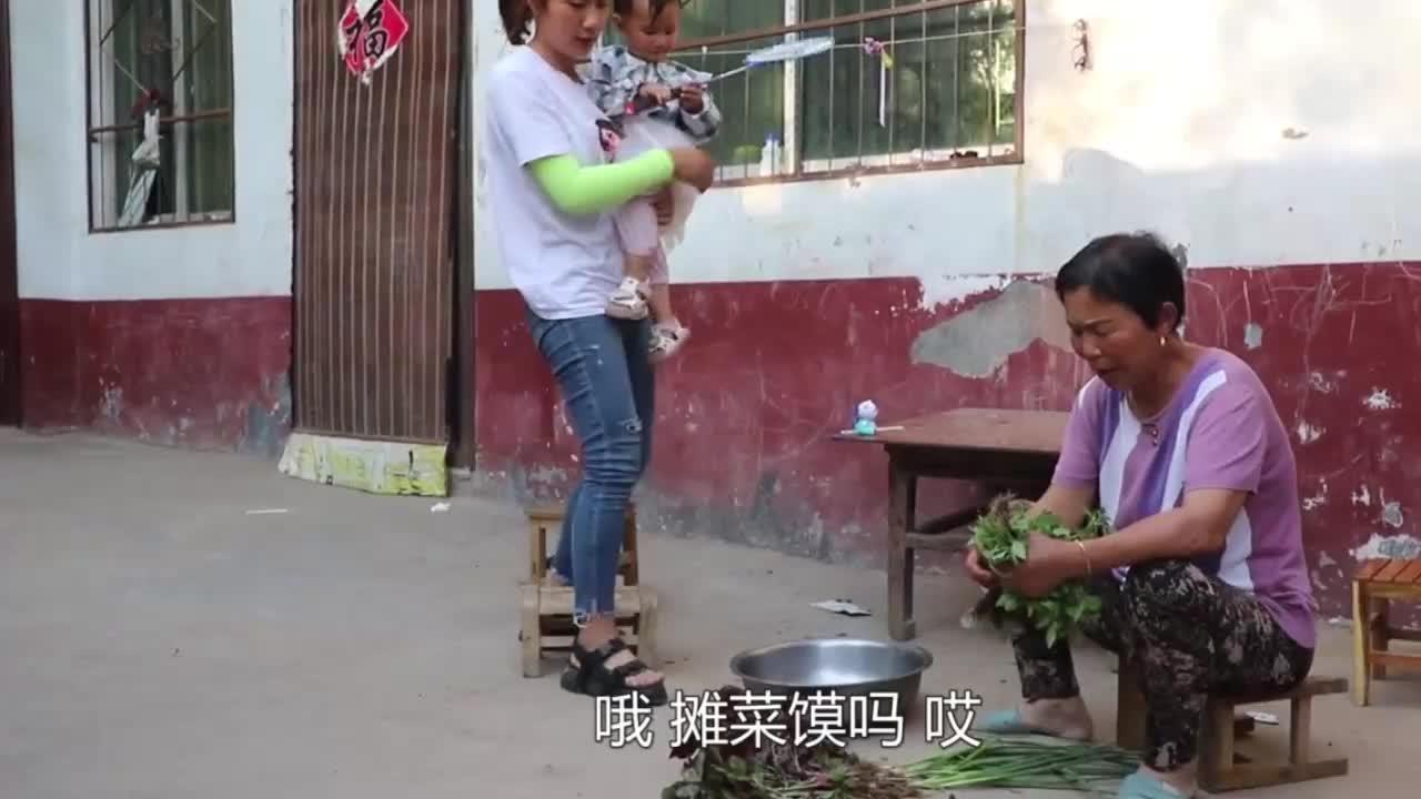 儿媳天热吃不下饭,婆婆想巧招做清淡美食,让儿媳吃的开开心心
