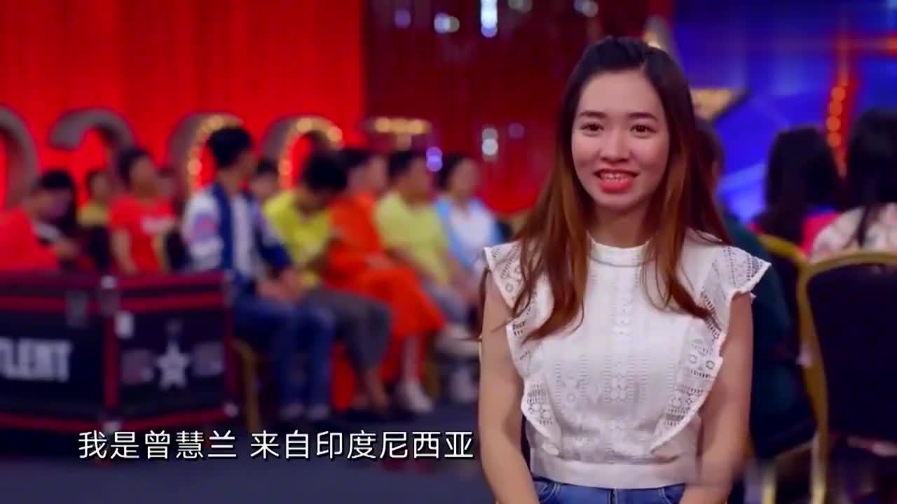 达人秀:姑娘你不该来达人秀,该去中国好声音呀!