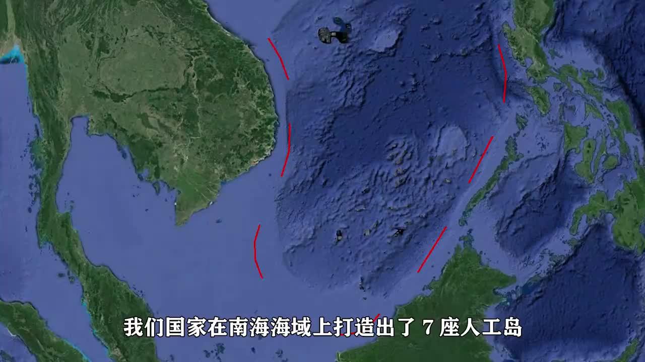 南海的后花园——七连屿:建成后是永兴岛11倍大,又一座海上城市