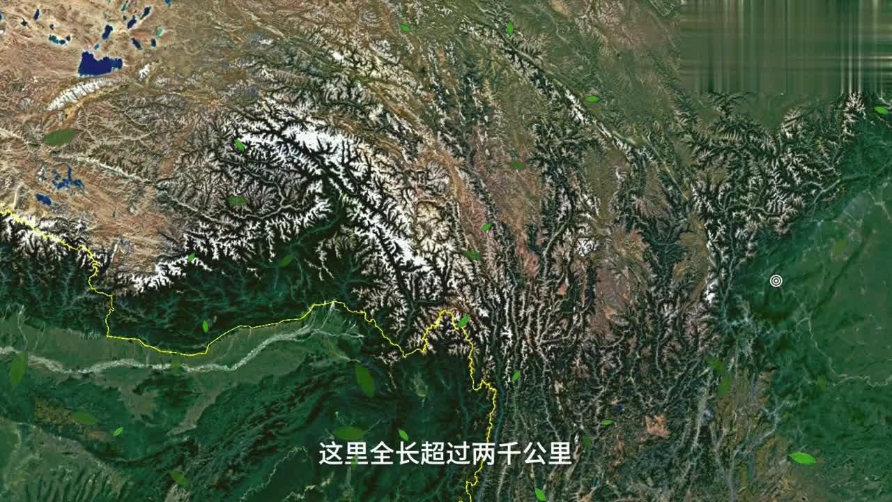 上帝视角穿行川藏线四川雅安-拉萨,不愧为最美风景!你想去吗