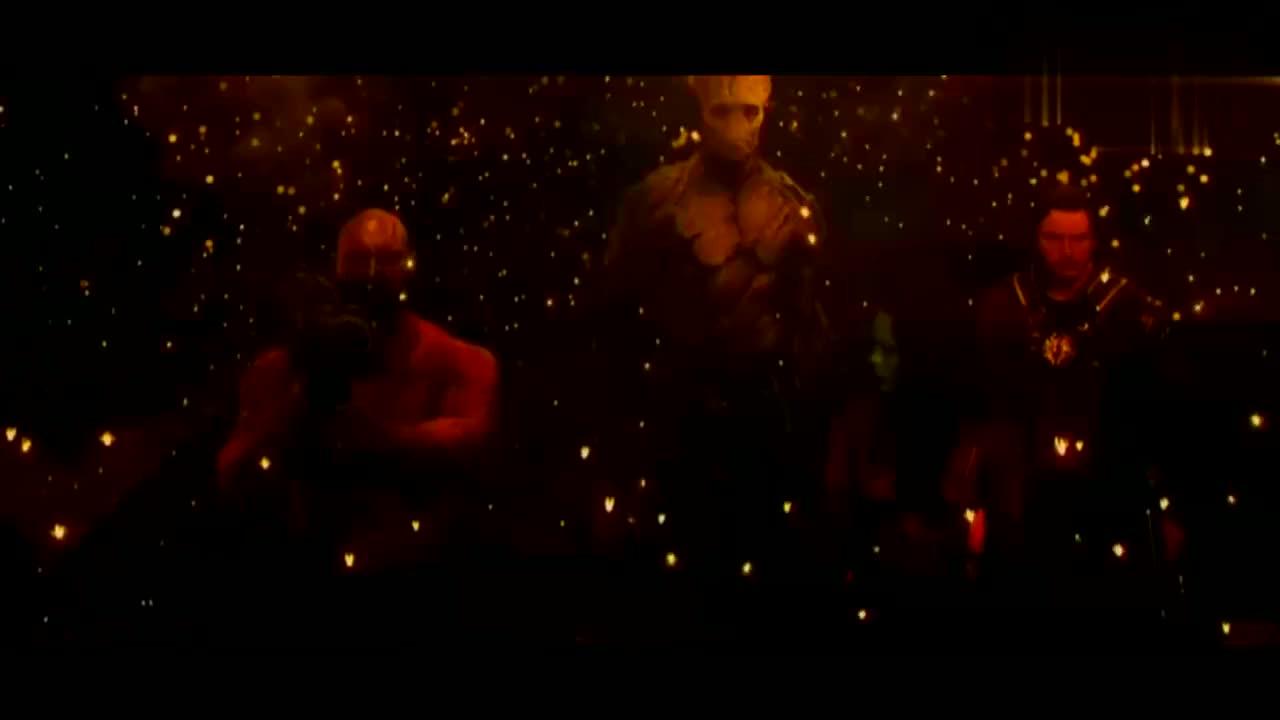 银河护卫队:勇度被包围,但是他用萨卡语,杀了所有人