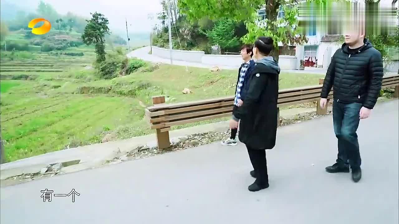 何炅宋丹丹太热心,碰见农村大姐买菜,叫上大华一起喊卖菜大叔