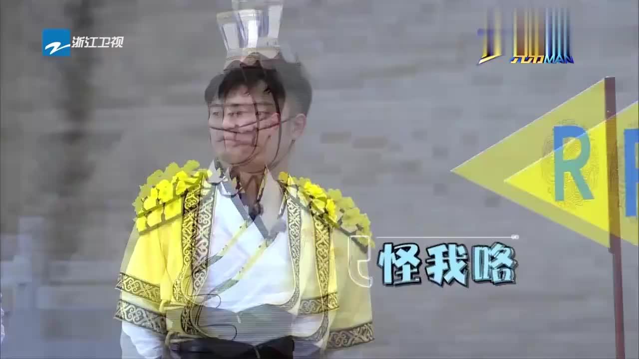 王祖蓝鹿晗成游戏黑洞,比赛开场二人就定下失败基调,令众人绝望