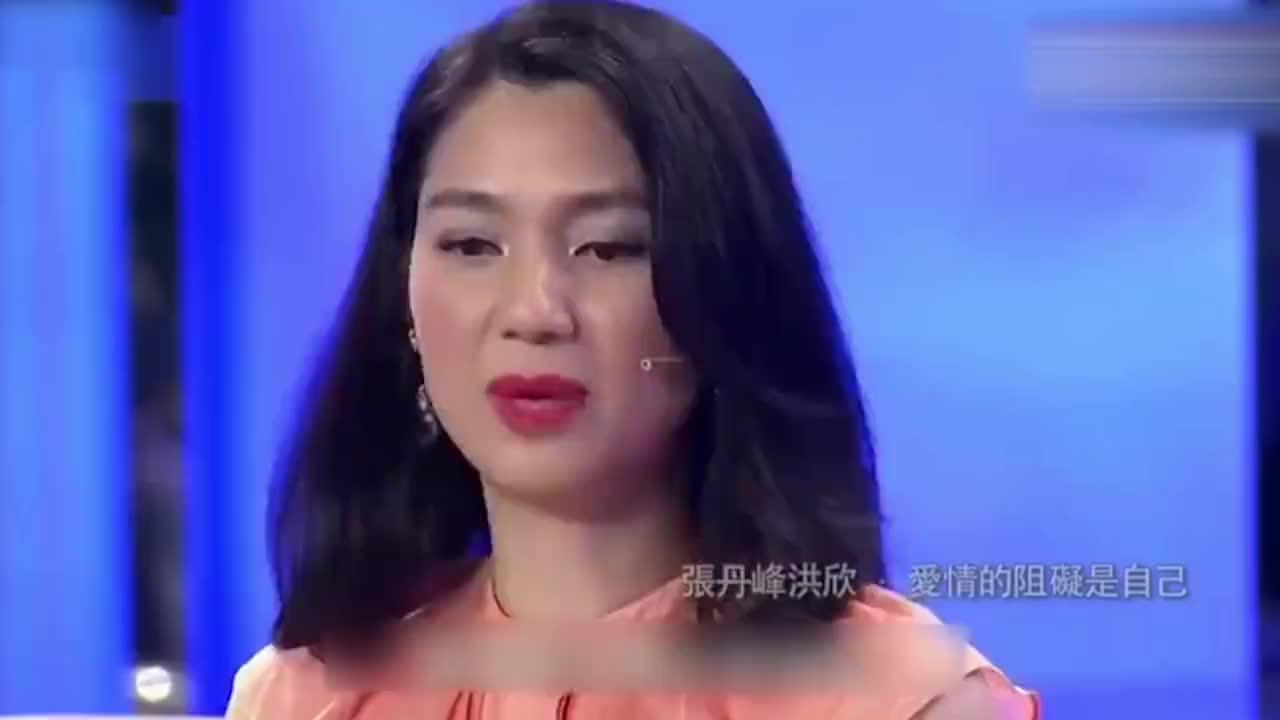 洪欣49岁生日不理张丹峰,两人感情生变?