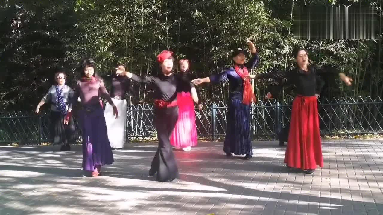 相约紫竹舞蹈队《月满西楼》!杜老师领舞,身韵形体训练