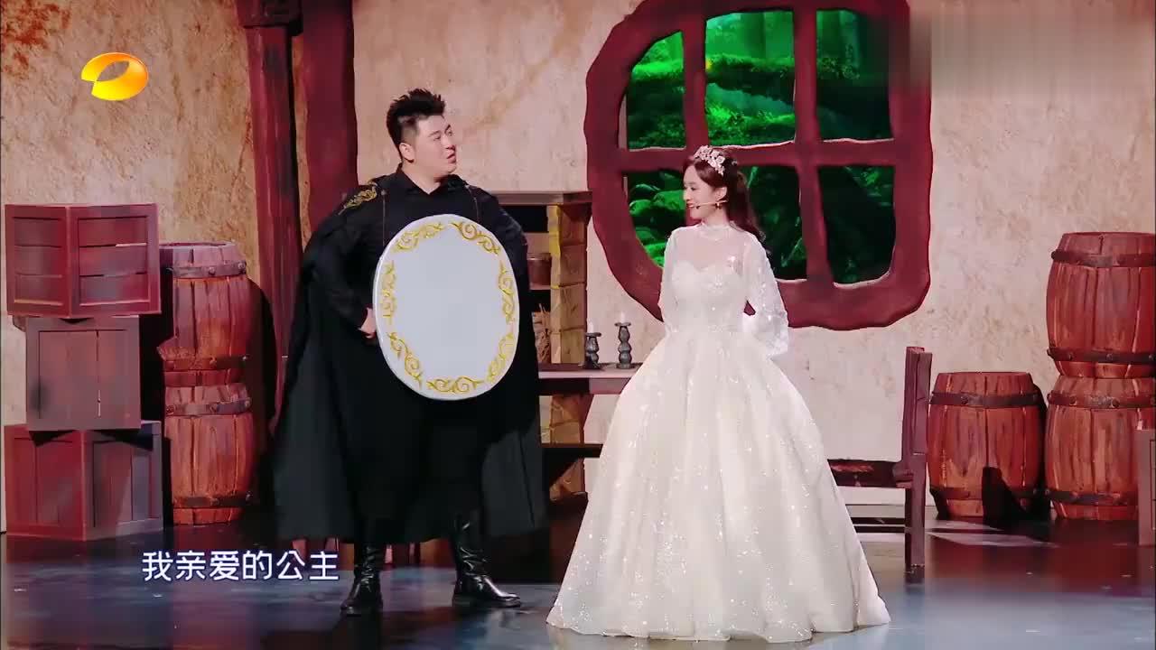 爆笑:公主:谁是世上最美的女人?墨镜:你把榔头放下再说话!