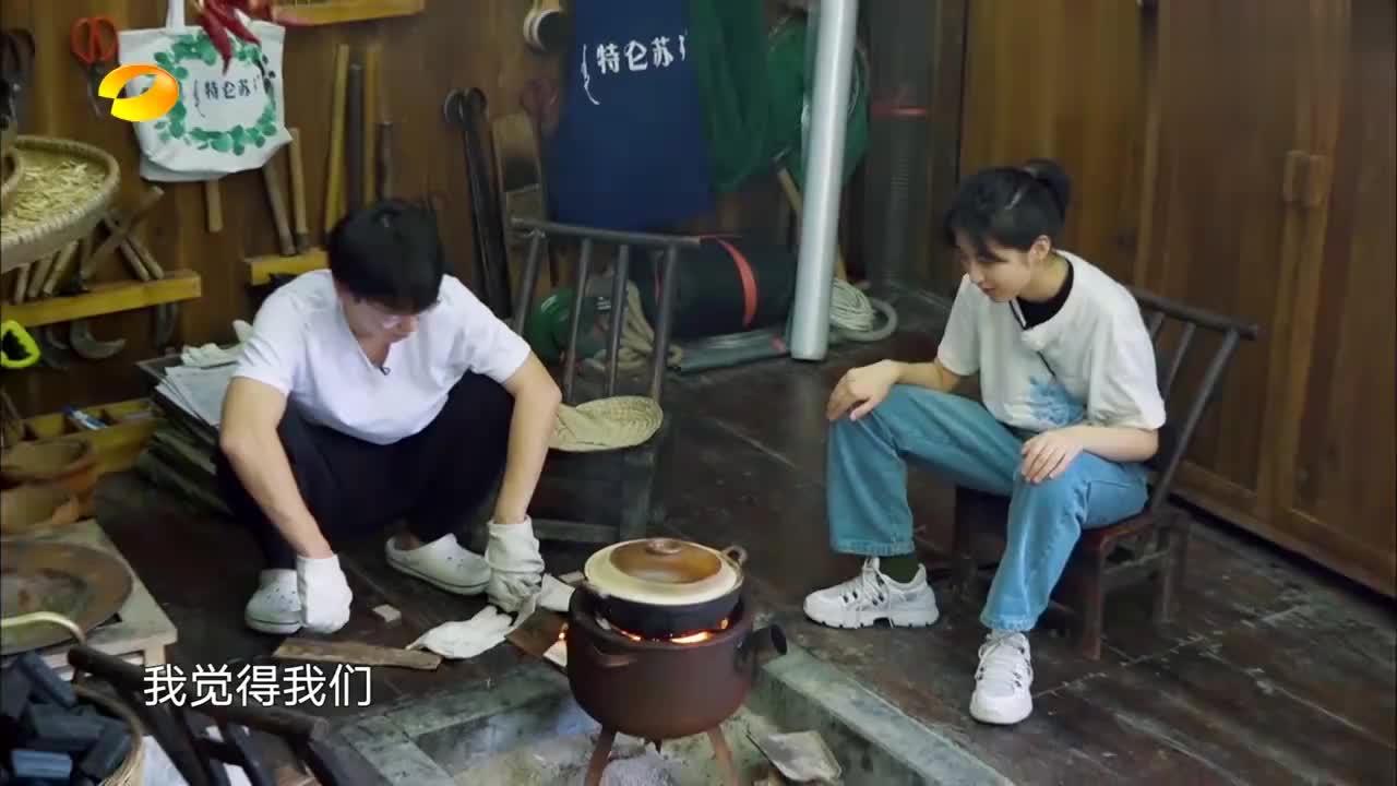 向往的生活:三个厨房新人煮饭,张子枫灵魂发问,陈赫:随缘吧!