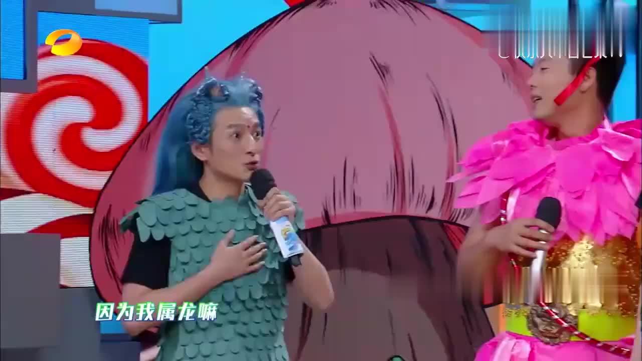 """何炅讲述自己COS的角色,不料引来谢娜""""调侃"""",笑翻全场!"""