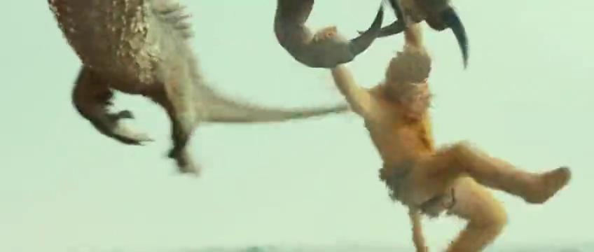 孙悟空三打白骨精:小白龙从海中冲天而起,急速俯冲将白马吞食