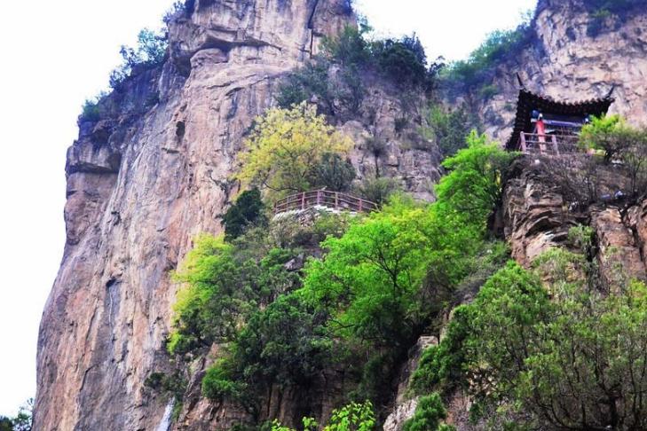 """石家庄又一景区走红,内藏""""皇家道观""""绝景,有""""北方桂林""""之称"""