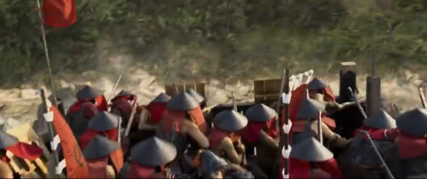 李舜臣战船击沉倭寇数艘战船,倭寇却并不着急