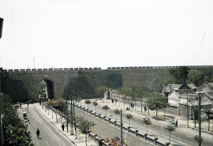 北平老照片:天坛,清晏舫,北海公园、华藏界、九龙壁、琼岛