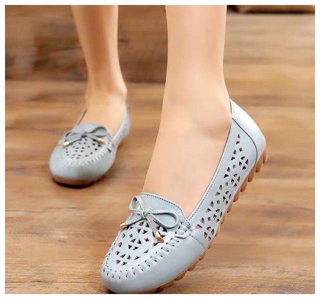 """有一种不闷脚:叫""""凉拖防滑软底鞋"""",合而不磨,适合婆婆妈妈穿"""