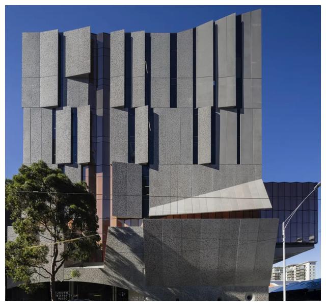混凝土设计 & 墨尔本大学音乐学院新楼