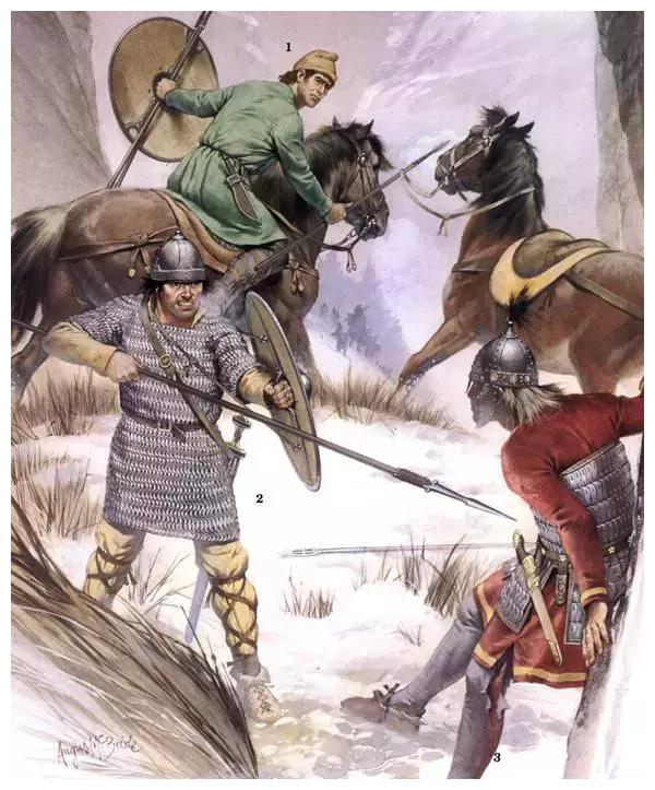图说战争:30张图带你看遍中世纪西方军事史