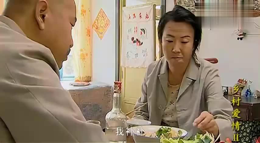 乡村爱情:最实在的东北菜,刘能白菜蘸酱,真香!