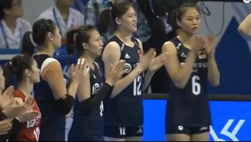 奥运会资格赛-中国女排VS德国 朱婷、李盈莹首发登场