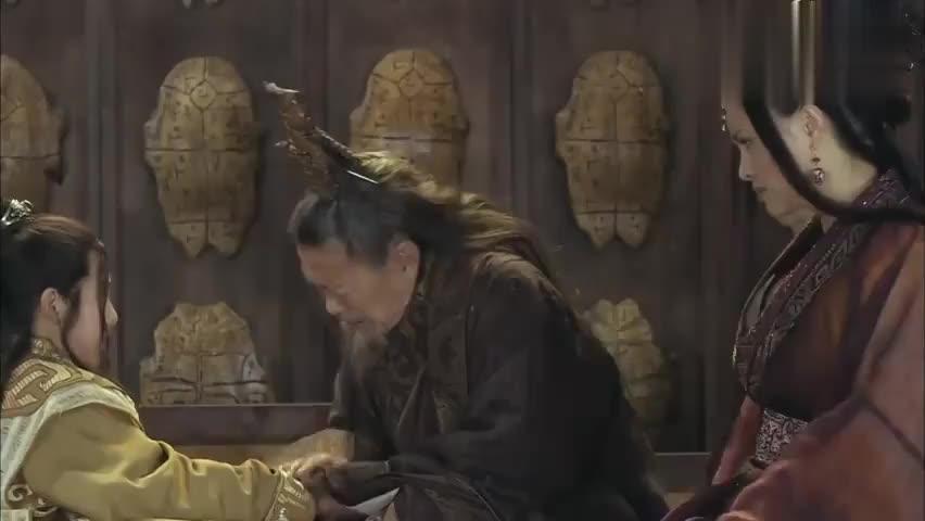 越国王女逃出吴宫,吴王阖闾出兵五万索要太子妃,两国形势紧张!