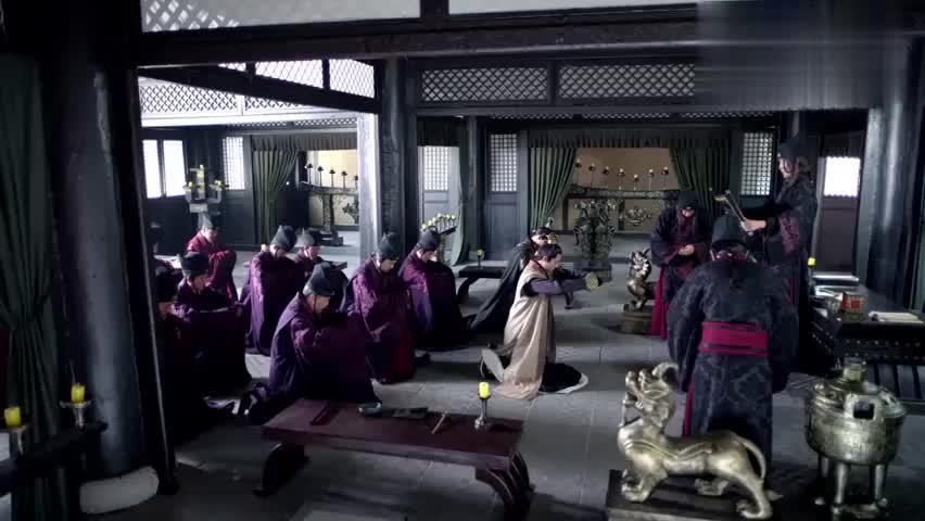 琅琊榜:王凯卸下戎装,参与朝政,一上场气势镇压全场