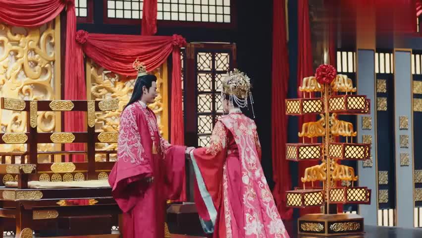 锦绣未央大结局:唐嫣和罗晋举行盛世婚礼,文武百官见证他们幸福