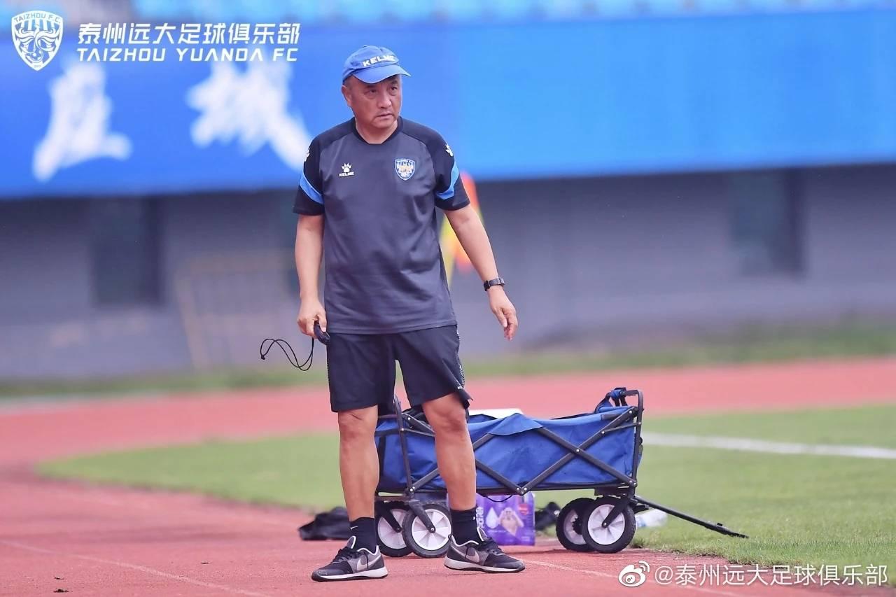 热身赛泰州远大3:0淄博蹴鞠,托西奇、戈伟与刘君鹏各进一球