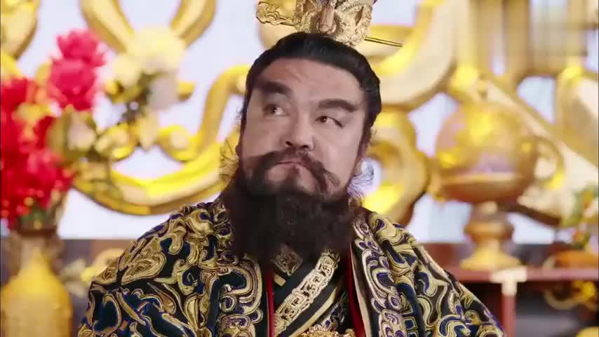 武神赵子龙:男子满眼不爽,愤愤不平,究竟为何