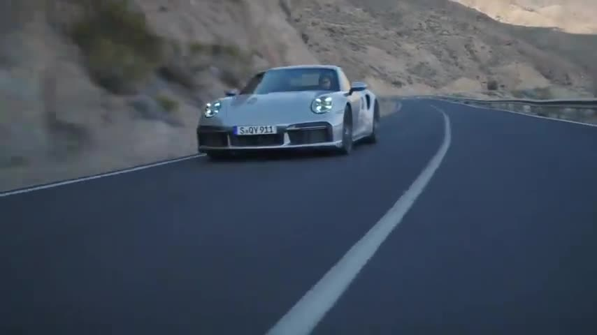 视频:全新保时捷911TurboS唯美视频,这是无数人梦中的开车场景