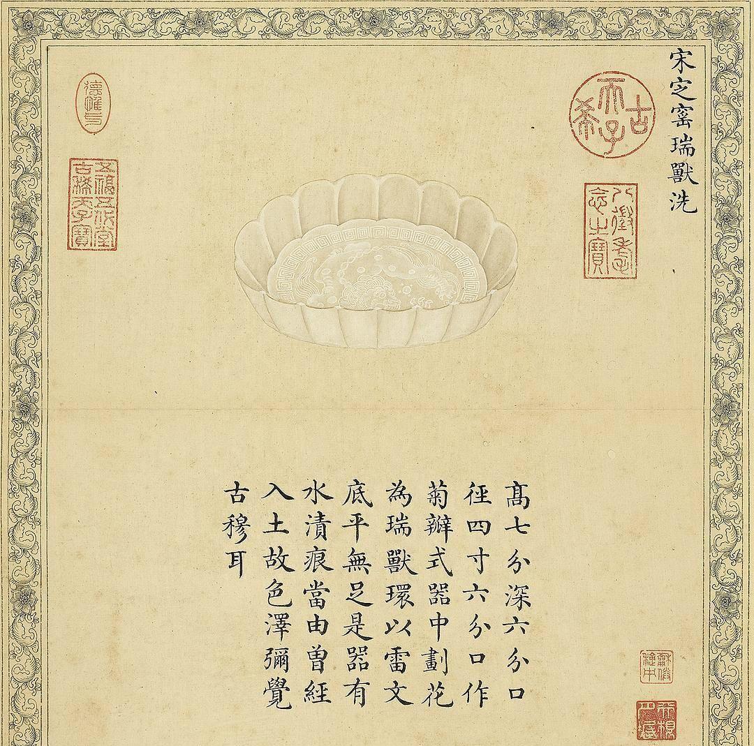 台北故宫博物院藏品,清宫陶瓷图录《珍陶萃美》!