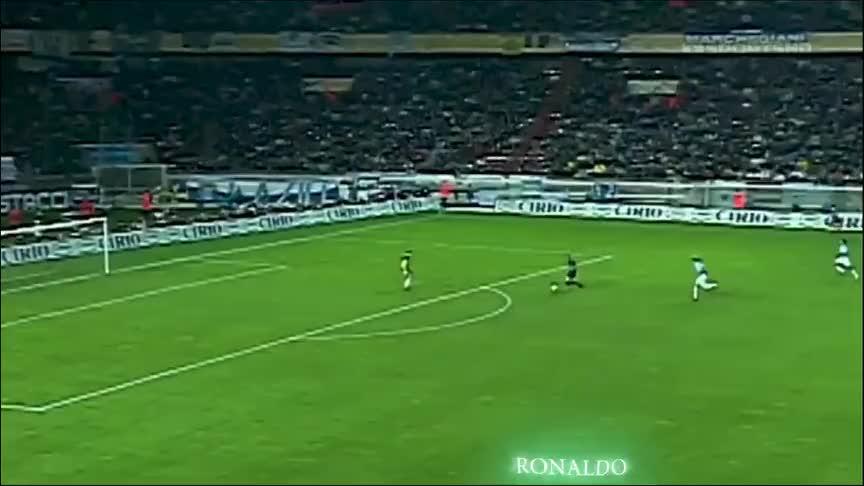 老球迷印象深刻的进球,罗纳尔多与巴蒂满满的都是回忆