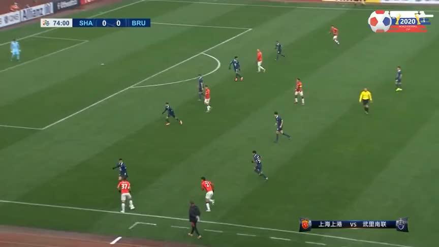 打破僵局!李圣龙替补登场即破门,上港1-0领先武里南联
